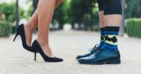 靴ずれした夫から学ぶブラジャーが合わない原因について